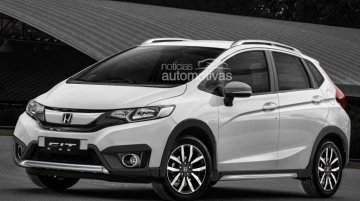 Honda Jazz Twist (Jazz Cross) coming to Brazil in 2016, Indian launch likely - Report