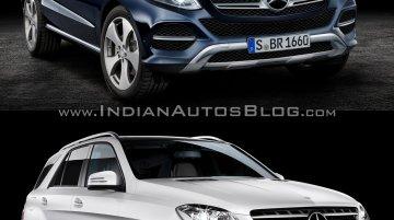 Mercedes GLE-Class vs 2012 Mercedes M-Class - Old vs New