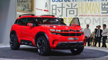 Citroen Aircross concept - Auto Shanghai Live