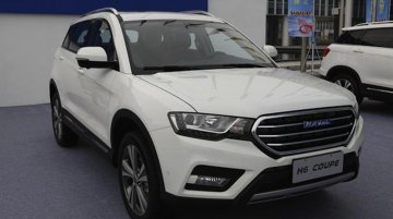 Haval H6 Coupe SUV revealed for Shanghai show with 2L turbo-engine - IAB Report