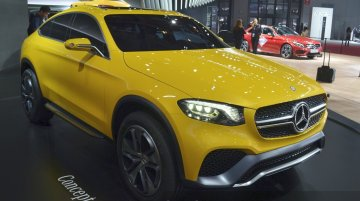 First live images of the Mercedes GLC Coupe Concept emerge from China [Update]