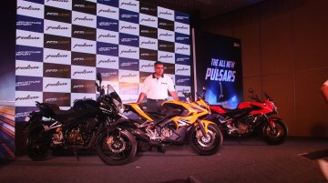 New Bajaj Pulsar AS 150, AS 200 and RS 200 launched in Pune - IAB Report