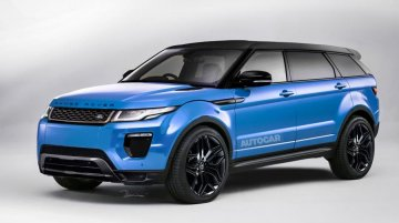 Range Rover 'Evoque Plus' with 7-seats to launch in 2016 - Rendering