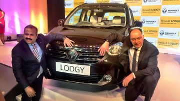 Renault Lodgy launched at INR 8.19 lakhs - IAB Report [Images Updated]
