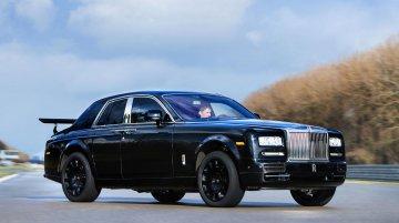 Rolls Royce's first SUV (Project Cullinan) starts testing on Phantom's body - IAB Report