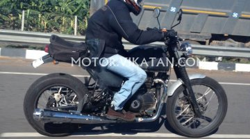 Royal Enfield Himalayan spotted testing in Chennai - Spied