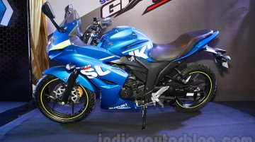 Suzuki Gixxer SF launched at INR 83,439 - IAB Report [Images Updated]