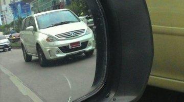 Sporty Tata Aria with bodykit spied testing - Thailand