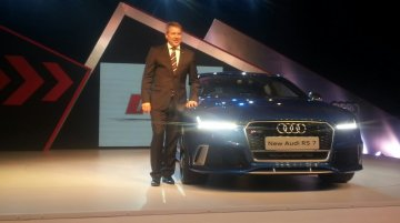2015 Audi RS7 (facelift) launched at INR 1.4 crores - IAB Report