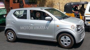 2015 Suzuki Alto (JDM) snapped testing in Coimbatore - Spied