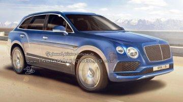 2016 Bentley Bentayga - IAB Rendering