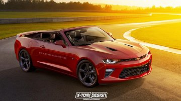 2016 Chevrolet Camaro convertible - Renderings