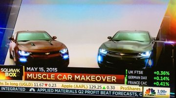 2016 Chevrolet Camaro receives its TV premiere in USA - Report