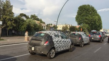 2016 Lancia Ypsilon (facelift) snapped testing - Spied