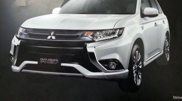 2016 Mitsubishi Outlander's (India-bound) brochure leaked - Report