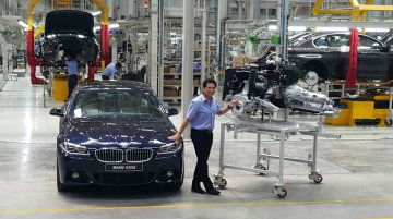BMW India increases component localization to 50 percent - IAB Report