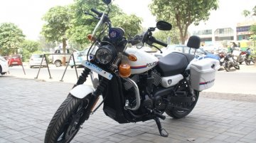 Gujarat Police get customized Harley-Davidson Street 750 - In Images