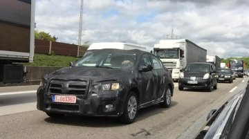 IAB reader snaps the new Fiat compact sedan (Linea successor) in Germany - Spied