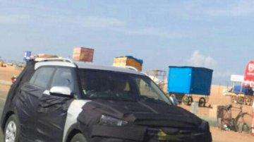 IAB reader snaps the Hyundai ix25 along a beach - Spied