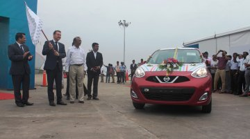 Nissan exports 500,000th car from India - IAB Report