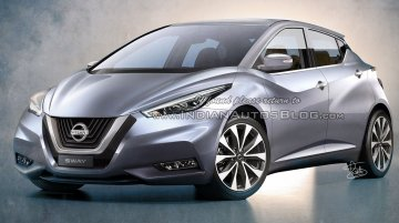 Next gen Nissan Micra (Nissan Sway production version) - IAB Rendering