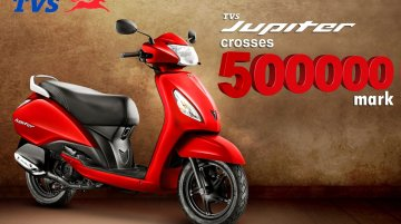 TVS Jupiter sales crosses 5 lakh mark - IAB Report
