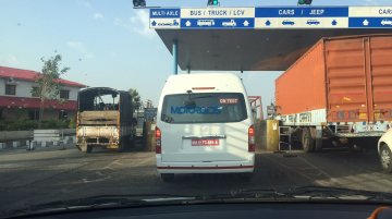 Toyota Hiace snapped testing in India ahead of launch - Spied