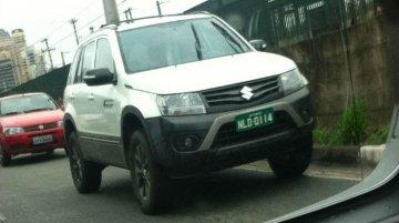 Suzuki Grand Vitara off-road version spotted testing - Brazil