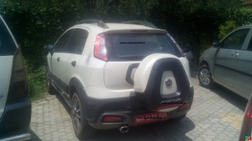 Fiat Abarth Punto Evo and Avventura spotted again - Spied