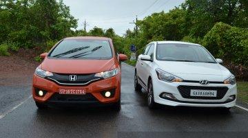 2015 Honda Jazz vs Hyundai Elite i20 vs VW Polo vs Maruti Swift - Comparo