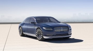 Production-spec Lincoln Continental to debut at 2016 NAIAS - Report