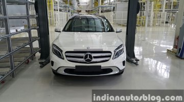 Mercedes GLA enters local assembly in India - IAB Report