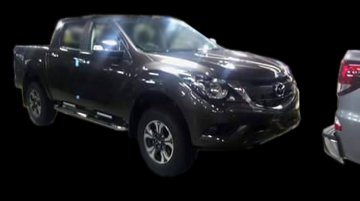 2016 Mazda BT-50 pickup (facelift) revealed in spyshots - Report