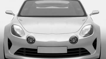 Purported 2016 Renault Alpine revealed in patent images - Report