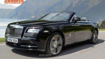 2016 Rolls Royce Dawn - Rendering