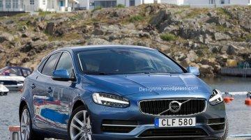 Volvo V40 (facelift) - Rendering
