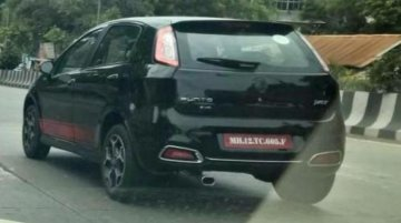 Fiat Punto Evo Abarth, Avventura Abarth spotted in India for the first time - Spied