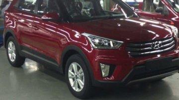 Undisguised images of the Hyundai Creta emerge - Spied