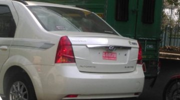 IAB reader snaps the Mahindra Verito EV ahead of launch - Spied