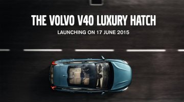 Volvo V40 launching in India tomorrow - IAB Report