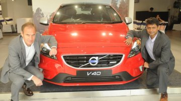 Volvo V40 launched in India at INR 24.75 lakhs - IAB Report