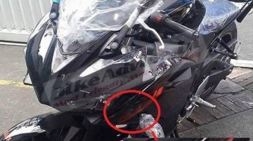 Showroom-ready Yamaha YZF-R3 spotted in Mumbai - Spied