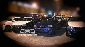 2015 BMW X5 M and BMW X6 M spotted in India for first time - Spied