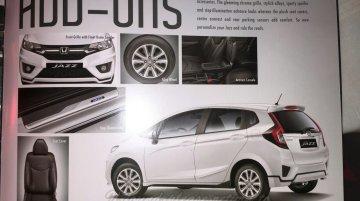 2015 Honda Jazz accessories announced for India - IAB Report