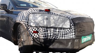 2017 Ford Fusion (facelift) spotted testing in Brazil - Spied