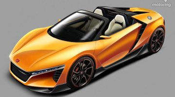 "Honda ""baby NSX"" could feature a hybrid drivetrain - Rendering"
