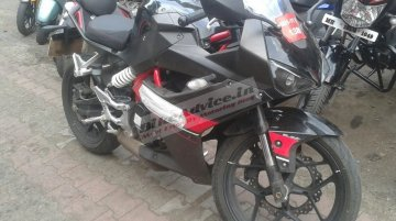 Hyosung GD250R snapped in India for the first time - Spied