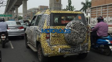 Mahindra U301 reveals its final shape, new details - Spied