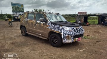 New Production-ready Mahindra S101 and U301 mules spotted - Spied