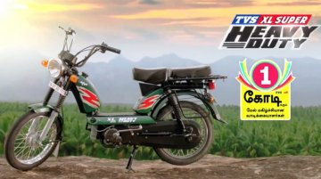TVS XL 100 launched at INR 29,198 - IAB Report